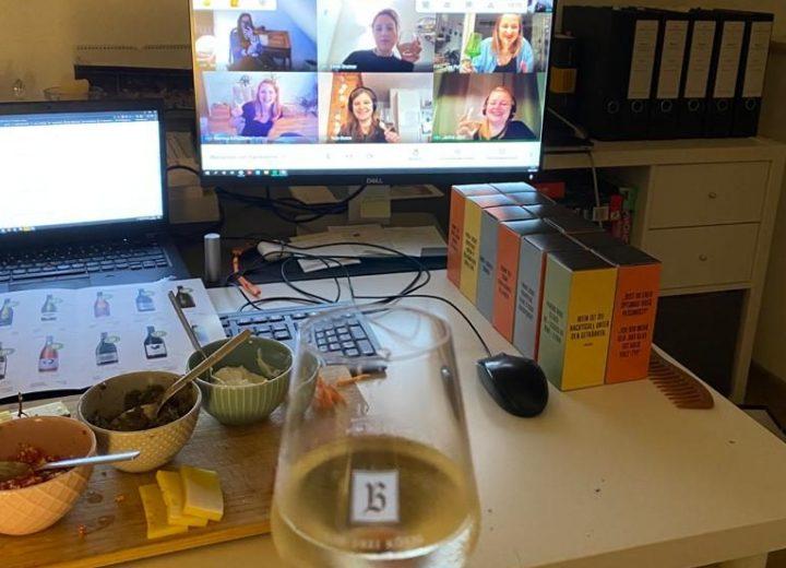 Bild vom Remote Winetasting
