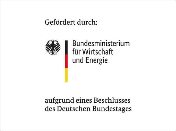 Logo der BMWI Förderung