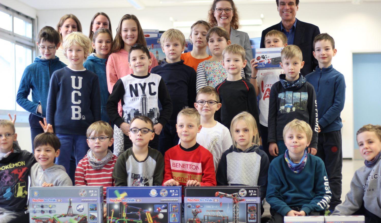 Fischertechnik in der Südschule Neureut