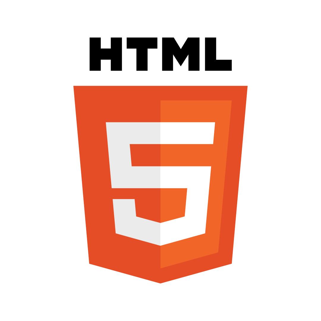Logo von HTML5