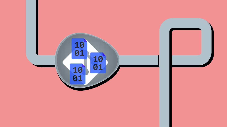 Binary bloat stuck in a git pipeline