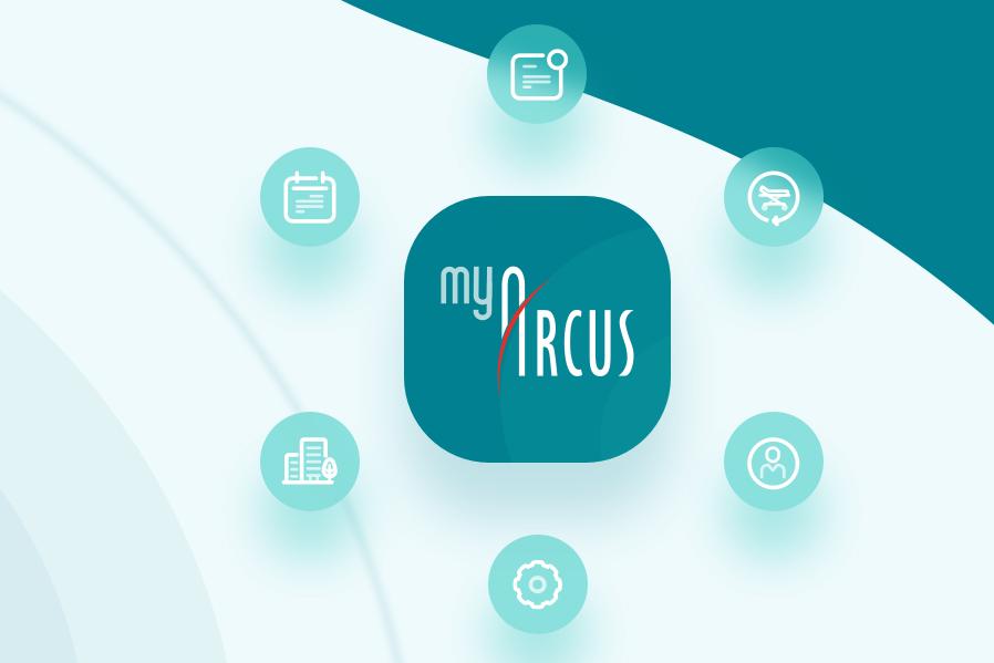 Logo der Lösung myARCUS für die ARcUS Kliniken